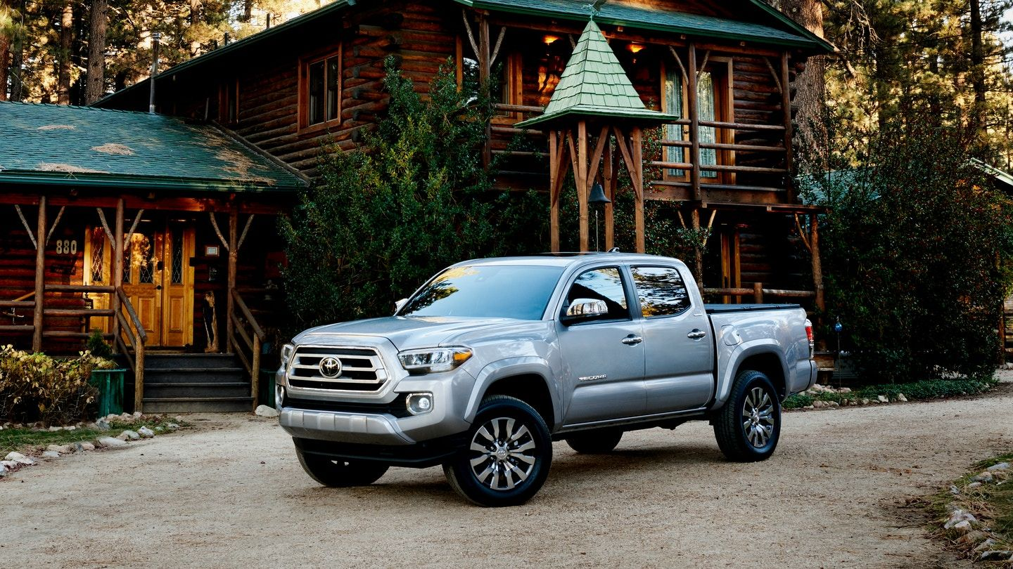 2021 Toyota Tacoma TRD Pro Front View