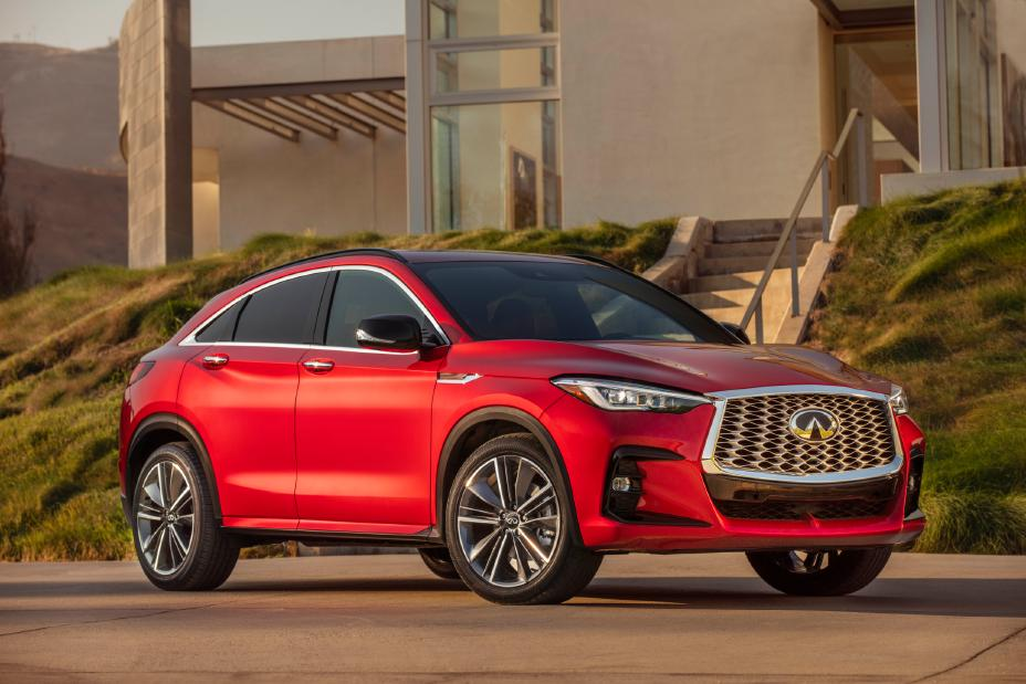 2022 Infiniti QX55 First Look right side view
