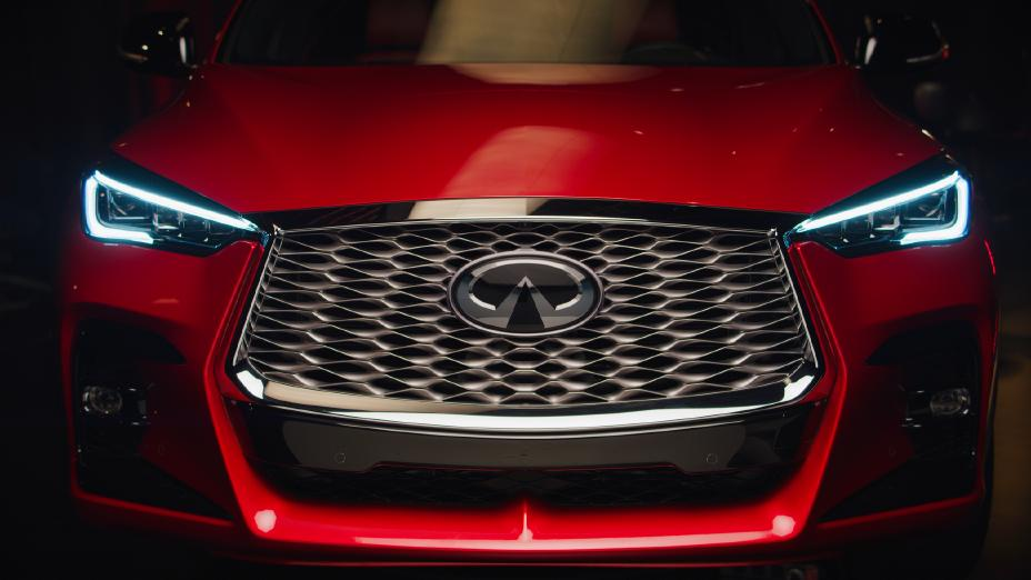 2022 Infiniti QX55 First Look front view