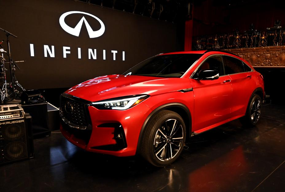 2022 Infiniti QX55 First Look