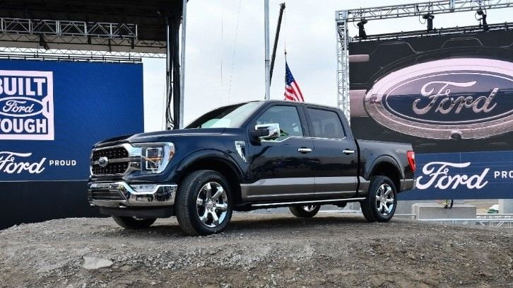2021 Ford F-150 Electric Pickup