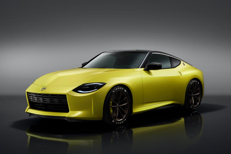 Nissan Z Proto Revealed Front View