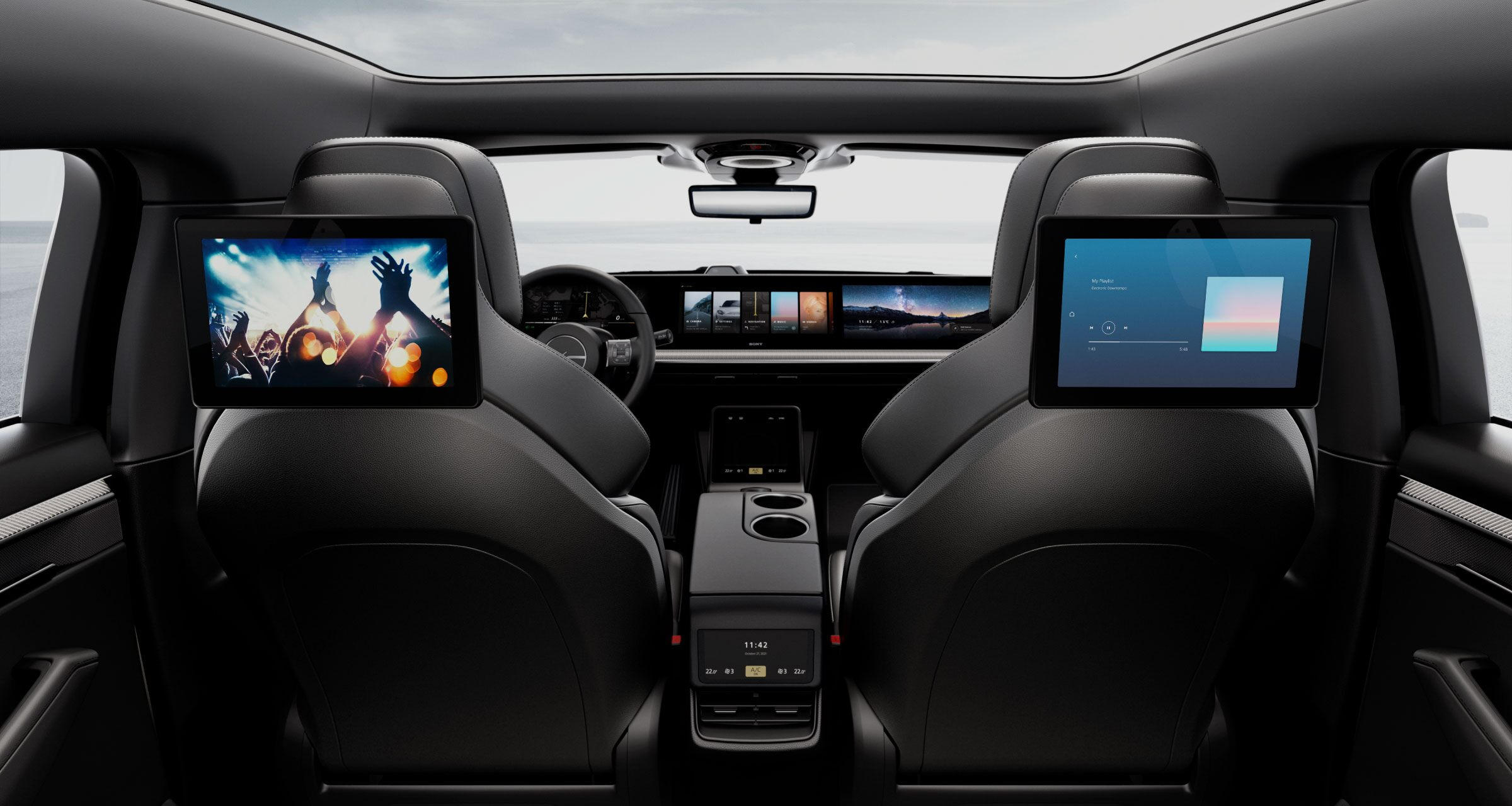 Sony's All-Electric VISION-S EV