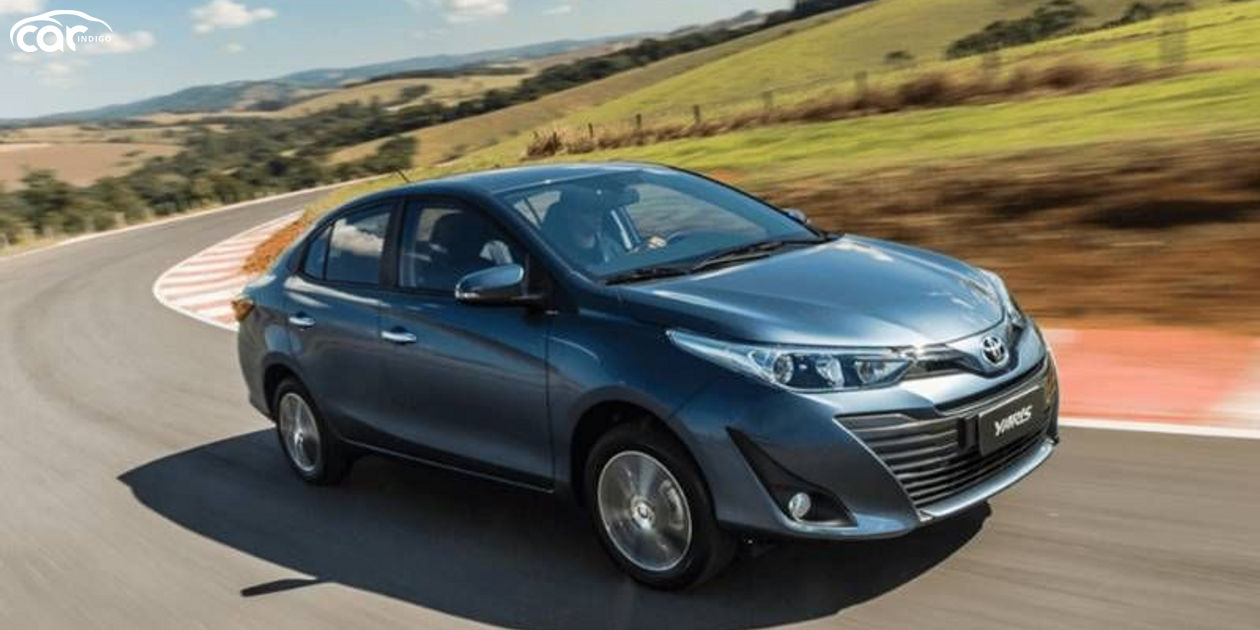 2021 Toyota Yaris Sedan Review Performance Mpg Prices Trims And Rivals Comparison