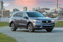 2020 Acura MDX hybrid Third Quarter View