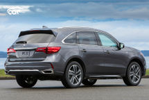 2020 Acura MDX hybrid Rear 3 Quarter View