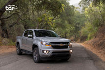 2021 Chevrolet Colorado Extended Cab Front View