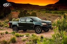 2021 Chevrolet Colorado Extended Cab Right Side View