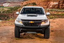 2021 Chevrolet Colorado ZR2 Diesel Extended Cab Front View