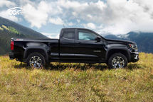 2021 Chevrolet Colorado ZR2 Diesel Extended Cab Right Side View