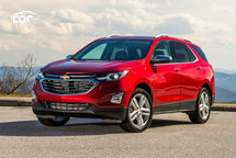 2020 Chevrolet Equinox Third Quarter View