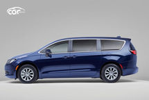 2021 Chrysler Voyager Left Side View