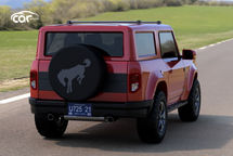 2021 Ford Bronco Rear View