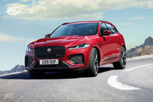 2021 Jaguar F-PACE R-Dynamic SE SUV Third Quarter View