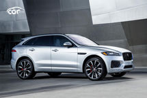 2021 Jaguar F-PACE S SUV Right Side View