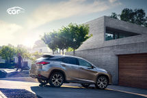 2020 Lexus RX 450h hybrid Right Side View