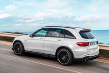 2021 Mercedes-Benz AMG GLC 63 Left Side View