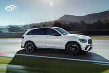 2021 Mercedes-Benz AMG GLC 63 Right Side View