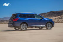 2020 Nissan Pathfinder Right Side View