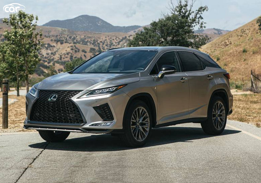 2020 lexus rx 350 f sport suv review, ratings, mpg and
