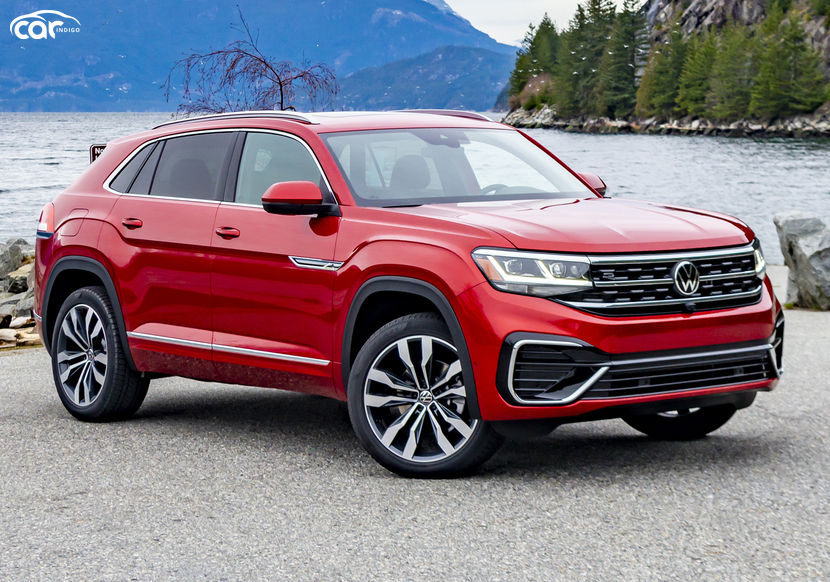 2021 volkswagen atlas cross sport review trims features