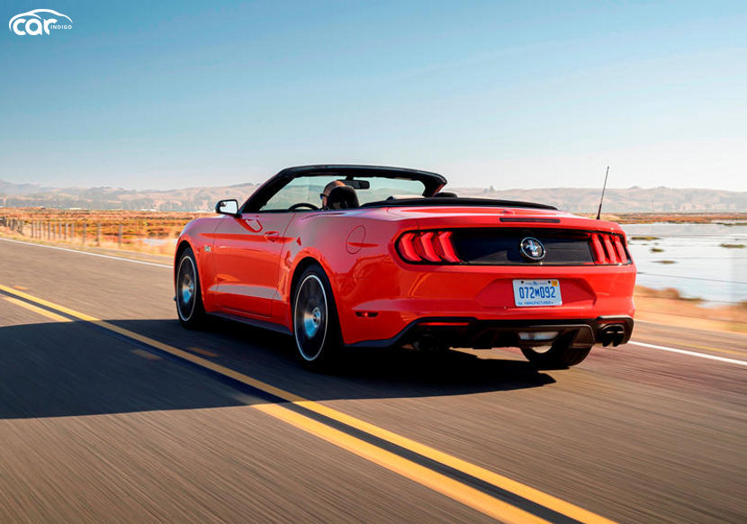 2021 Ford Mustang Convertible Performance and MPG ...