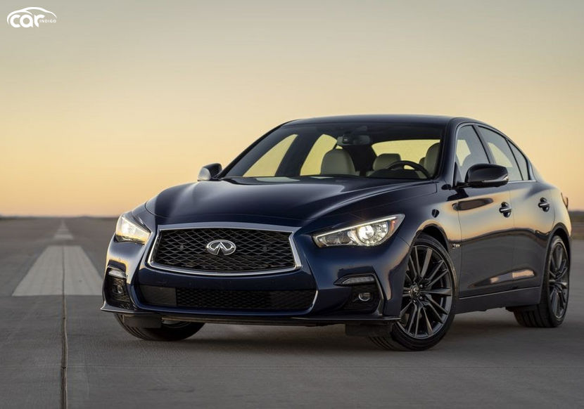 2021 infiniti q50 red sport review  trims features