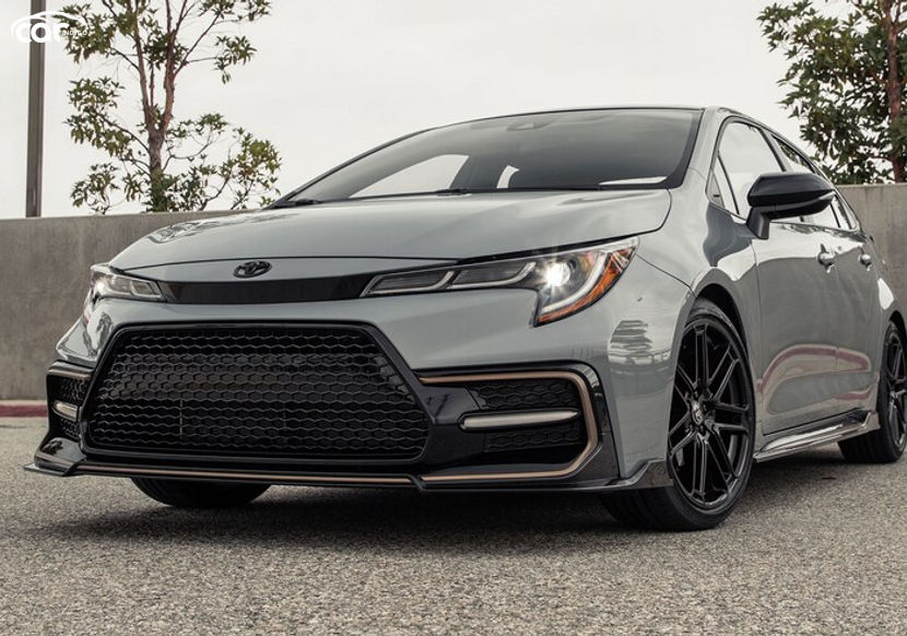 2021 toyota corolla apex xse - review - price, features