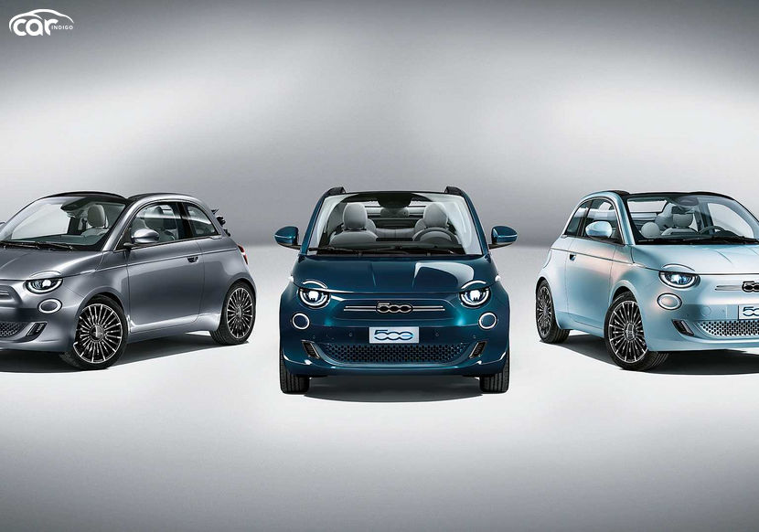 The 3rd Gen Fiat 500 Is The Brand's 1st Fully Electric Car