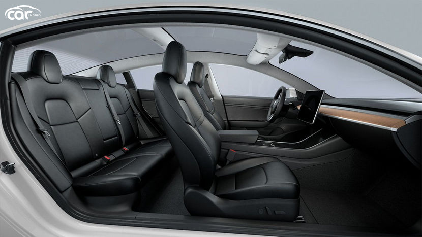 2020 Tesla Model 3 electric Interior Review - Seating ...